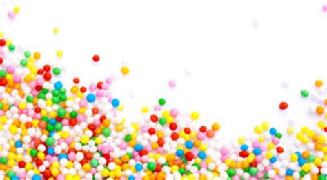 sprinkles frame stock image. image of confectionery