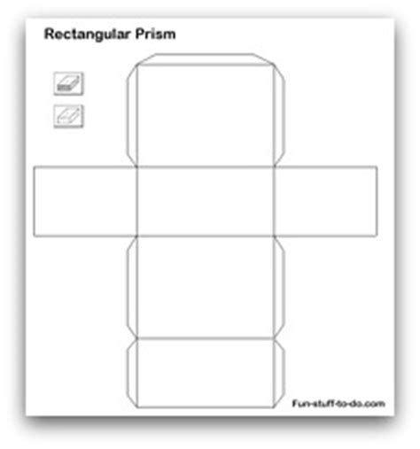 net pattern for square prism cuboid net template printable printable template 2017