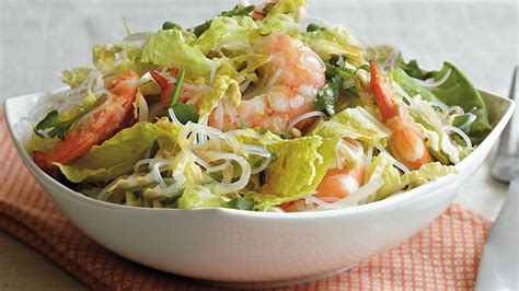 Lezat Sekejap 30 Salad Asia asian shrimp and noodle salad recipe bettycrocker
