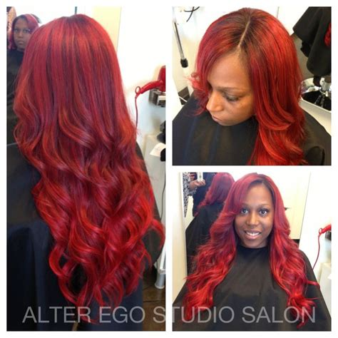 hair salons in durham that do sewin sew in weave with lace closure custom color stylist tim