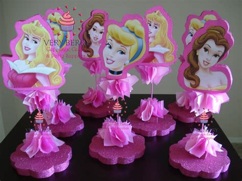 princess centerpieces veryberry cupcakes princess glitter centerpieces