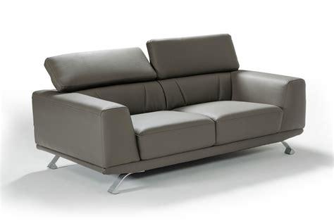 dark gray leather sofa divani casa brustle modern dark grey eco leather sofa set