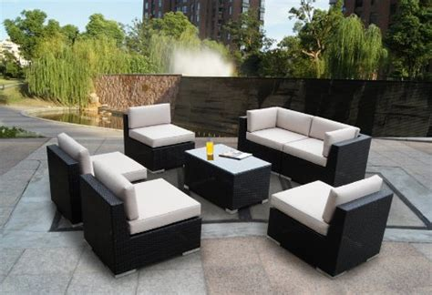 Cyber Monday Patio Furniture by Black Friday Genuine Ohana Outdoor Patio Wicker Sofa