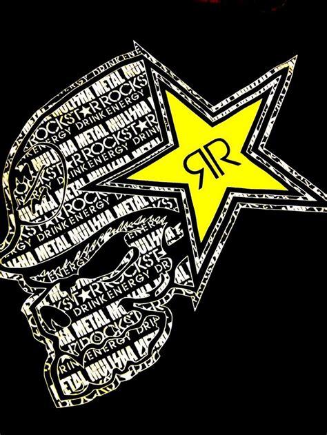 rockstar energy logo rockstar energy drink metal mulisha png 768 215 1024