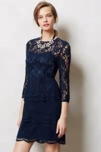 blue lace dress dressed up