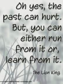 Quote From the Past Can Hurt Lion King