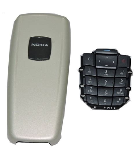 Keypad Nokia 2600 nokia 2600 original back panel and keypad mobile spare