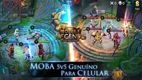 Mobile Legend Mobile Legends Lol De Celular