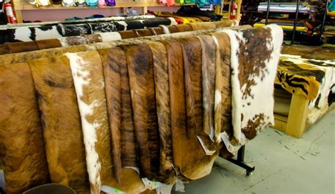 leather supplier wholesale leather supply - Cowhide Rugs Calgary