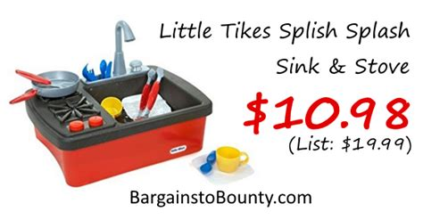tikes splish splash sink and stove tikes splish splash sink stove at lowest recorded