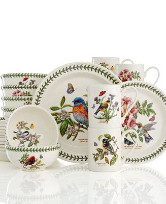 botanic garden dinnerware portmeirion dinnerware botanic garden birds collection