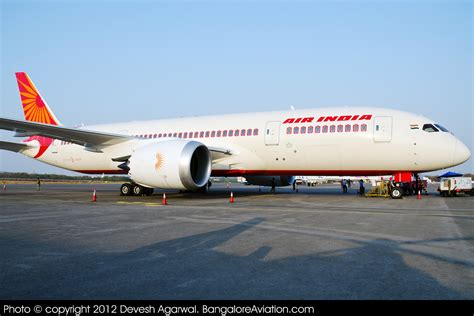 Air Second air india commences second daily delhi bangalore flight with the 787 dreamliner bangalore aviation
