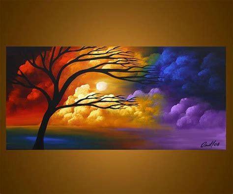 pintar cuadros con pintura acrilica pinturas en acrilico paisajes buscar con google