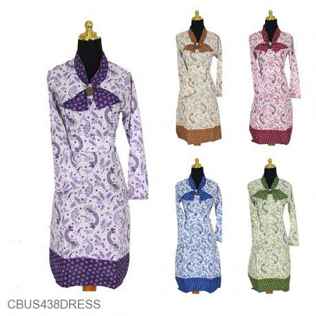Sarimbit Dress A 39 jual dress batik sarimbit murah model dress batik