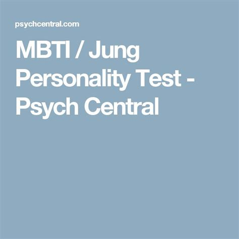the best personality test best 20 jung personality test ideas on