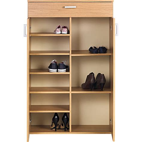 venetia shoe storage unit oak effect venetia boot storage cabinet oak effect