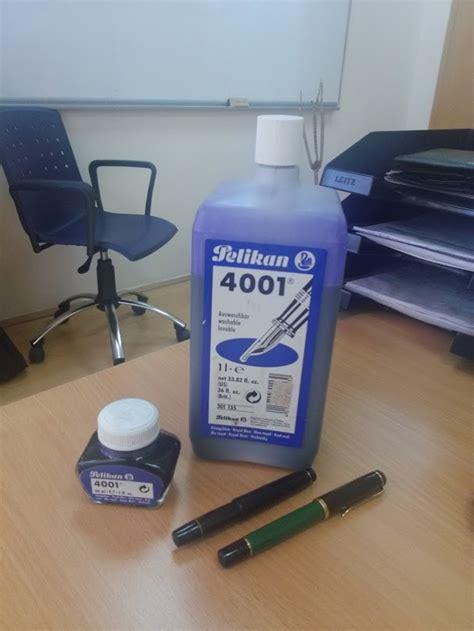 Pelicin 1l pelikan m150 kaweco v16 pelikan 4001 one litre