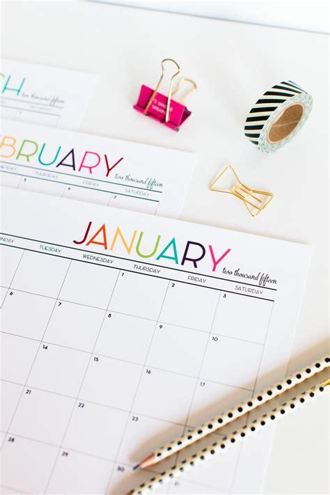 printable calendar 2015 blog 2015 printable calendar the tomkat studio blog