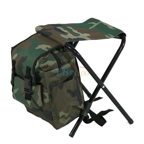 folding fishing chair backpack 2 in 1 folding fishing stool backpack seat chair