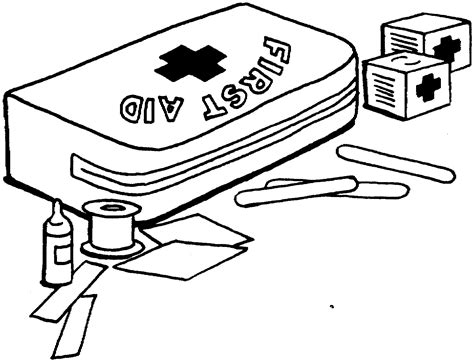 coloring book kits coloring page kid s aid health