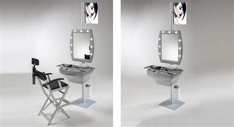Postazione Make Up by Postazione Trucco Completa Professionale Cantoni