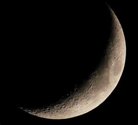 fases de la luna dibujo de luna creciente
