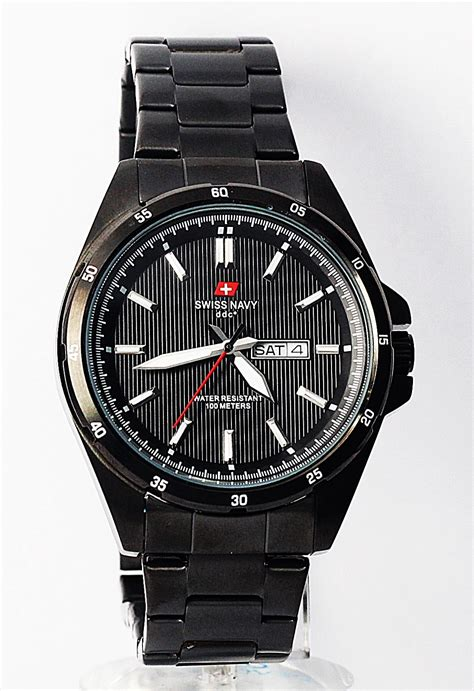 Swiss Navy 8310mrgbl Jam Tangan Pria Original Garansi Resmi jual beli jam tangan original swiss navy 8681mb toko jual jam baru jam tangan pria model