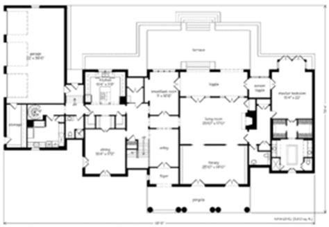 Montpellier Ken Tate Architect Print Southern Living Ken Tate House Plans