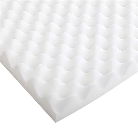 Egg Crate Mattress by Deluxe Egg Crate Mattress Toppers 4 Sizes Buy Home
