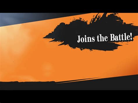 Joins The Battle Template By Schmendan On Deviantart Smash Bros New Character Template