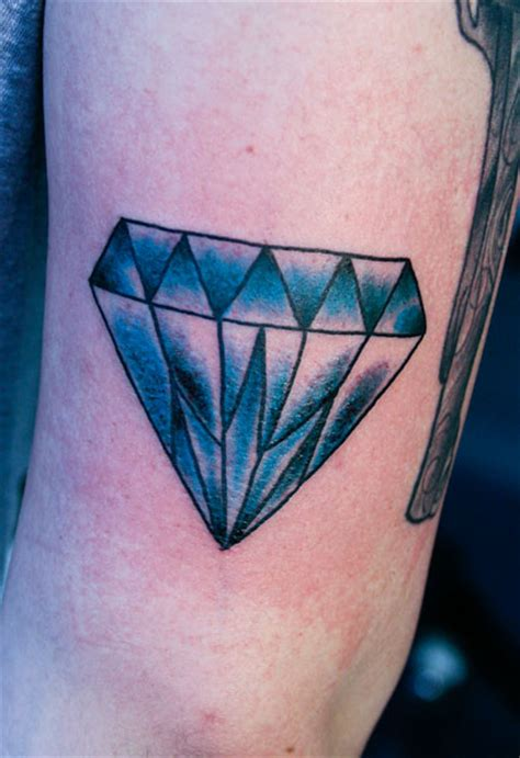 traditional diamond tattoo hannikate designs of tattoos meaning
