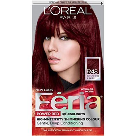 loreal permanent colour permanent colour feria preference pakcosmetics l or 233 al feria permanent hair color r48 velvet auburn buy in