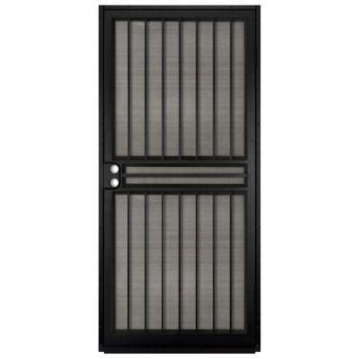 unique home designs guardian black outswing security door