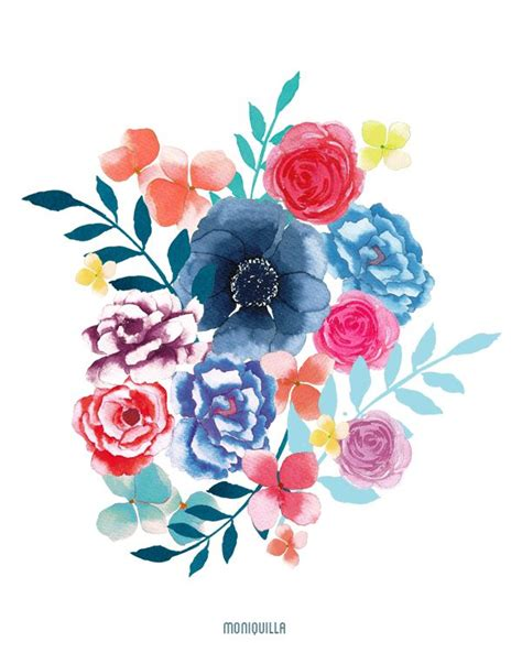 imagenes jpg flores resultado de imagen de pinterest flores a acuarela