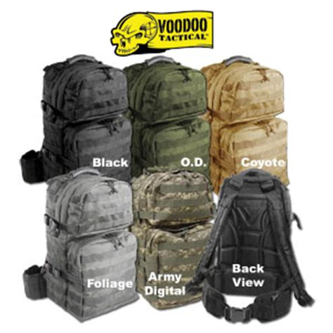 3 day tactical pack combat sport supply voodoo tactical 3 day assault back pack