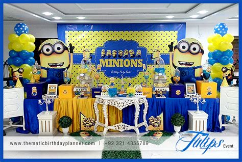 Ideas For Birthday Decoration At Home by Minions Themed Birthday Party Decoration Ideas In Pakistan