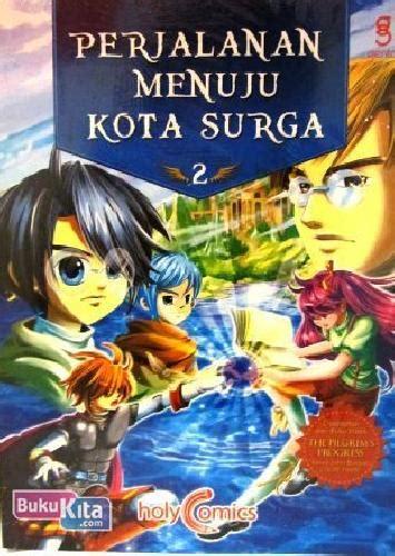 bukukita holy comics perjalanan menuju kota surga 2 color