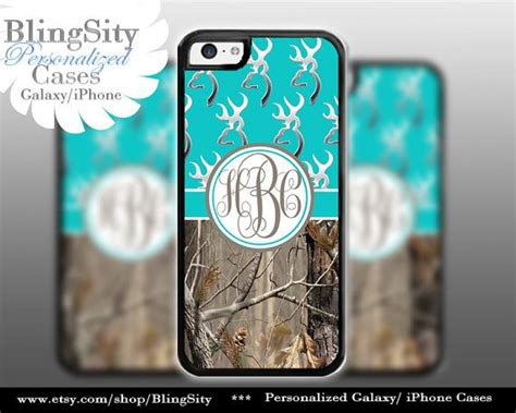 iphone b a country monogram iphone 5c browning aqua teal iphone 5s iphone 4 ipod 4 5 real tree camo deer