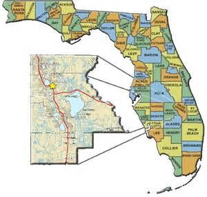 highlands county florida map work area