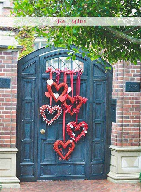 valentines day window outdoor decorating ideas with hearts for this valentines