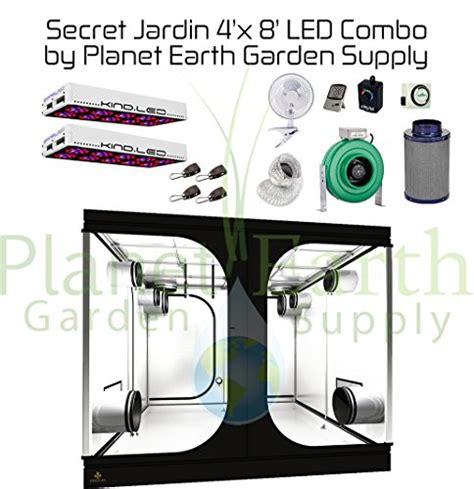 Secret Led L by Secret Jardin Grow Tent 4 X 8 Led Combo Package 7