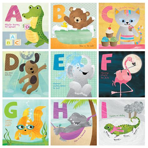 abc book of animals learn alphabets with animals in the jungle books animal abc book illustration on behance