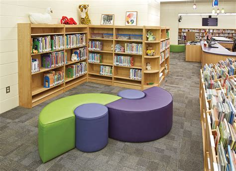 school library furniture black hawk elementary school ideas inspiration from demco