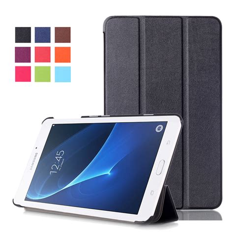 Smart Cover Samsung Taba 2016 samsung galaxy tab a a6 7 0 smart leather cover t280