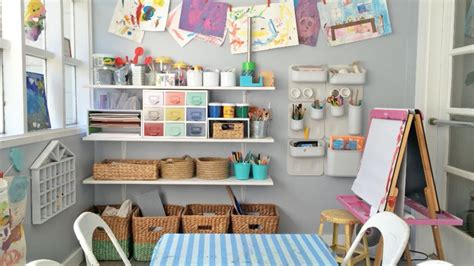 art and craft studio 7 expert tips for creating an organized crafts space for kids