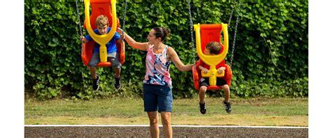 swing zero 7 8560 zero g swing chair beige brace playground swing