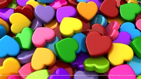 wallpaper of colorful hearts colorful hearts wallpapers wallpaper cave