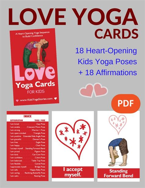 free printable yoga cards for preschoolers 17 best images about yoga poses on pinterest yoga poses