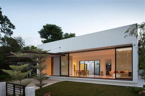 serene house serene mandai courtyard house by atelier m a
