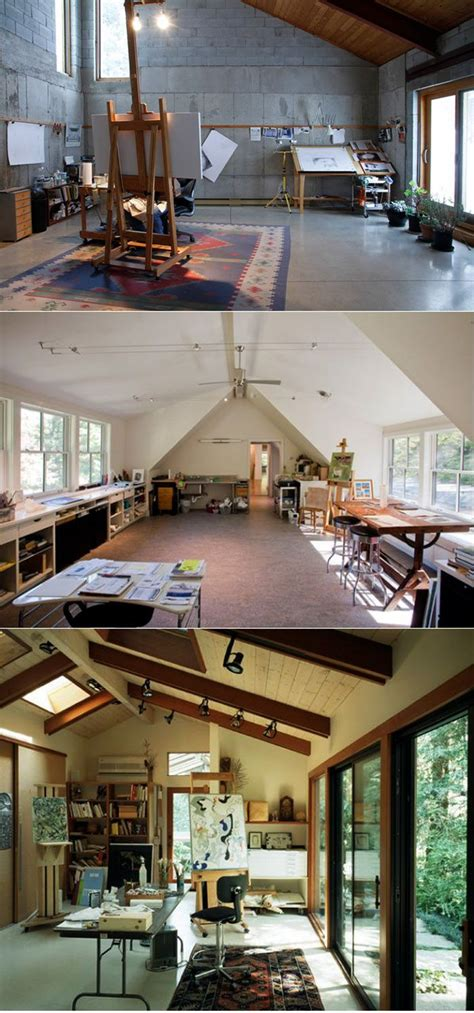 garage artists best 25 atelier ideas on studios studios